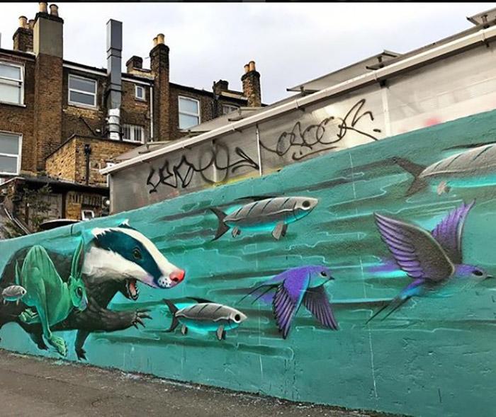 В потоке. Лондон. Instagram rocket01.c0.uk