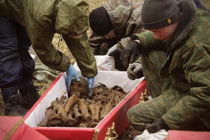 Поисковая группа достигла в последнее время больших успехов в поисках погибших советских солдат благодаря волонтерам, которые помогают в поисках в свое свободное время.