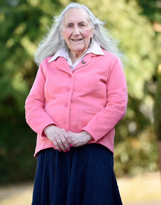 90-летняя Патриция.