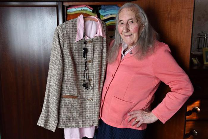Сейчас в гардеробе Патриции находятся только женские наряды.