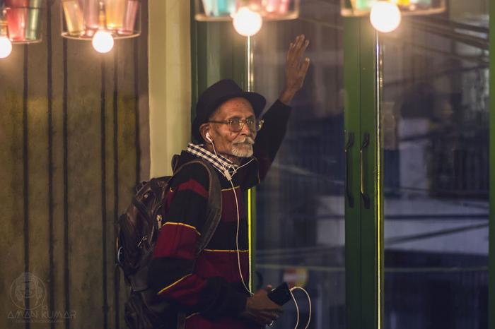 Молодой фотограф из Нью-Дели Амар Кумар сделал из своего дедушку настоящего денди.