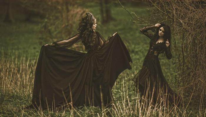 Модели: Александра Олбрит и Мамико.  Фото: A.M.Lorek Photography.