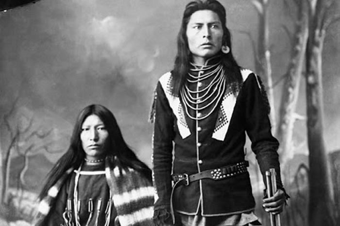 Индейцы Канады, конец XIX века. Автор фото: Алекс Росс.