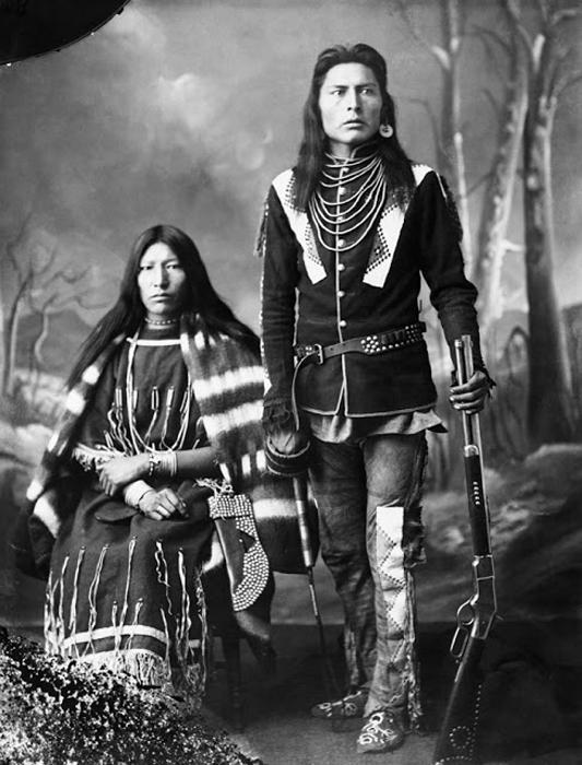 Муж и жена, 1886г. Автор фото: Alex Ross.