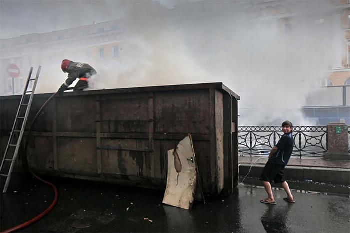 Мокро. Фото: Александр Петросян.