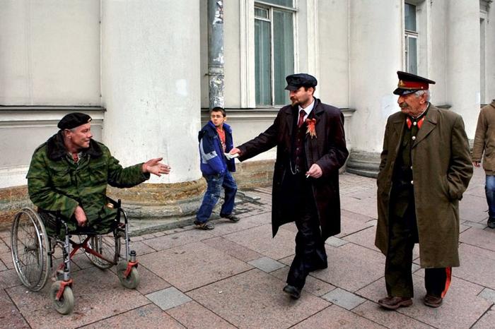 Встреча. Фото: Александр Петросян.