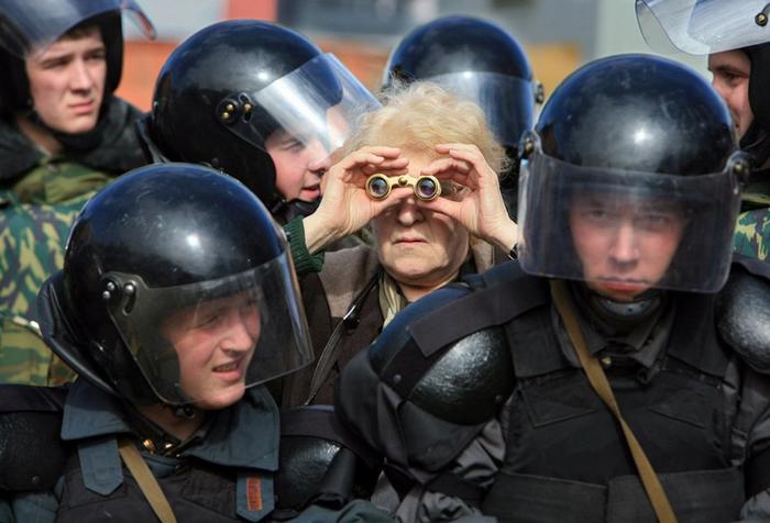 Защита. Фото: Александр Петросян.