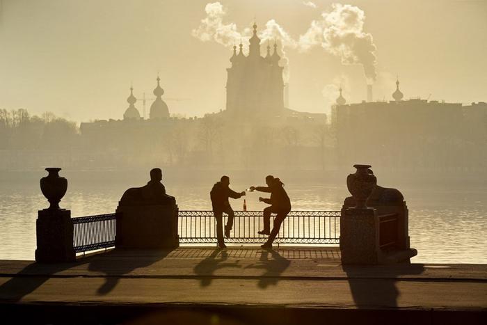 За взаимопонимание! Фото: Александр Петросян.