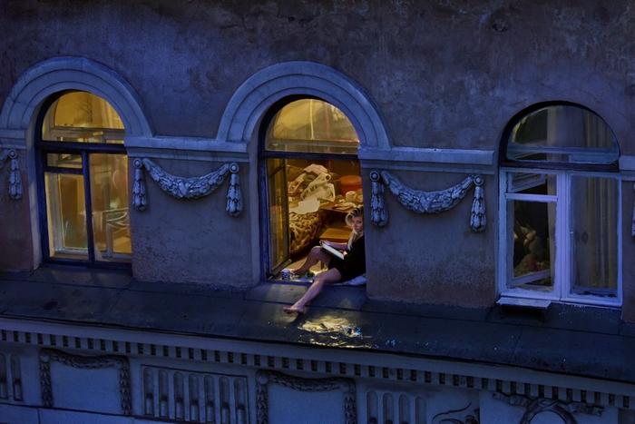 Свет в окне. Фото: Александр Петросян.