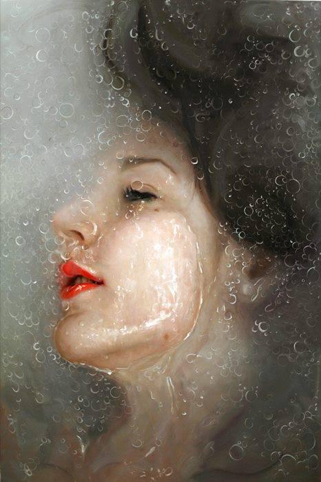 Портреты от художницы из Нью-Йорка.