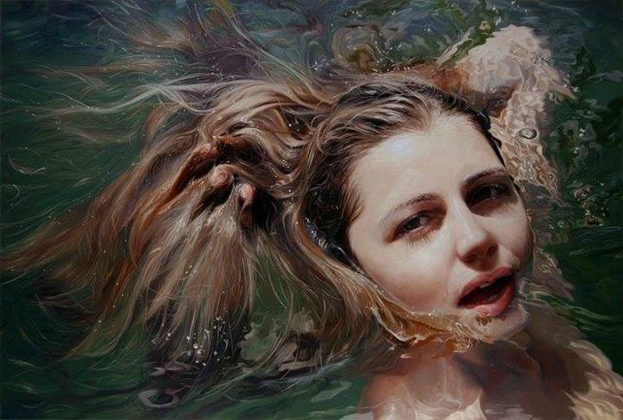 Алиссе удается добиться в своих произведениях потрясающей реалистичности изображаемого.