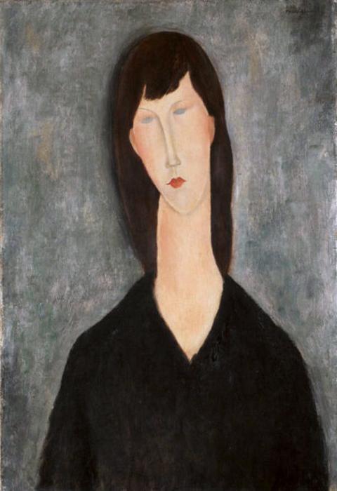 Портрет женщины, ок. 1919. Национальный музей изящных искусств в Буэнос-Айресе.