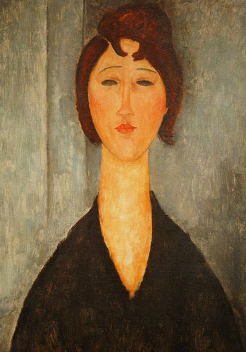 Портрет молодой женщины, 1819. Музей искусств в Новом Орлеане.