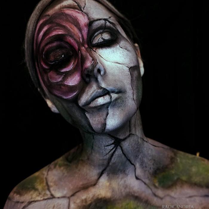 Статуя из камня. Автор: Andrea De La Ossa.