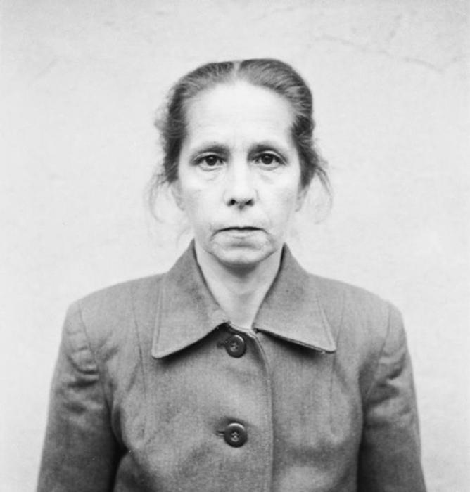 Йохана Борман: Приговорена к смертной казни.