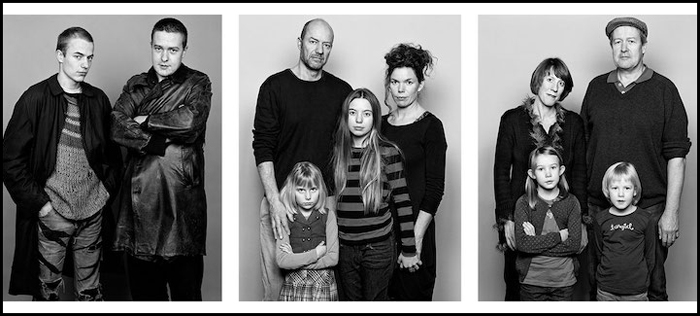 Друзья Бени и Энди (1982) / семья Бени (2014) / семья Энди (2014).