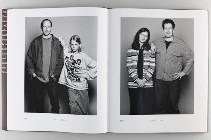 Бени и Марко (1997). Сибилла и Энди (1997). Страницы из книги Барбары Даватц.