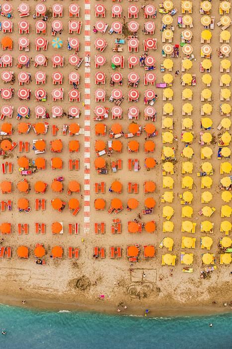 Фотопроект Aerial Views Adria немецкого фотографа Бернхарда Ланга.