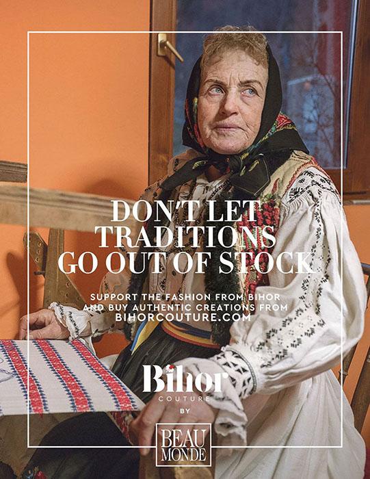 Местный магазин организовал кампанию Bihor Couture.