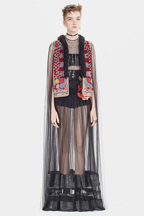 Одежда Dior из коллекции осень-2017.