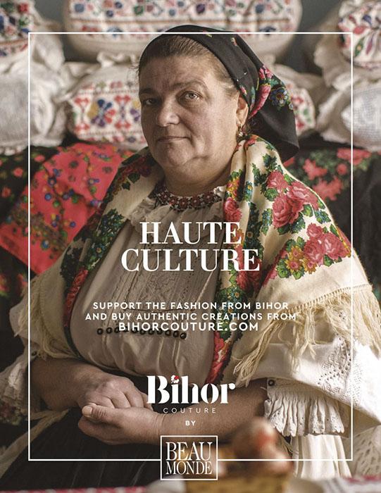 Кампания Bihor Couture направлена на рекламу одежды мастеров из Бихора.