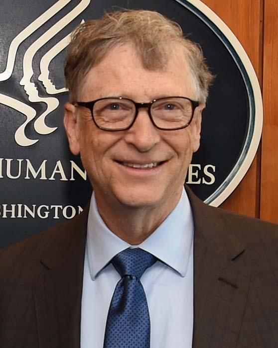 Билл Гейтс, основатель компании Microsoft.