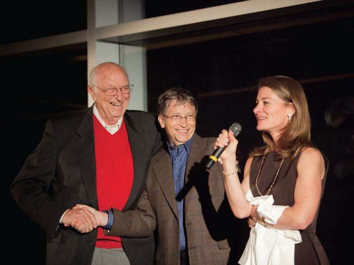 Билл Гейтс признается, что всегда восхищался своим отцом.