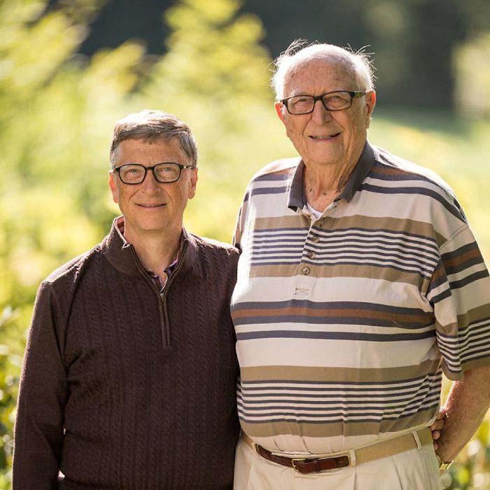 Билл Гейтс и Билл Гейтс-старший.