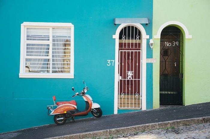 Цветные улицы Кейптауна