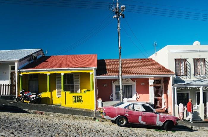Аккуратные домики в Бо-Каап.