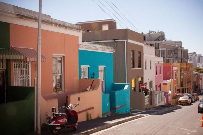 Улицы Кейптауна.