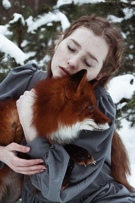 Зимняя фотосессия.  Фото: Alexandra Bochkareva.