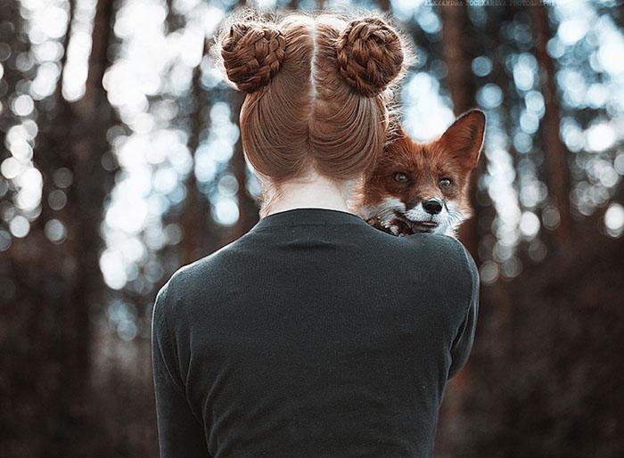 Двое рыжих. Фото: Alexandra Bochkareva.