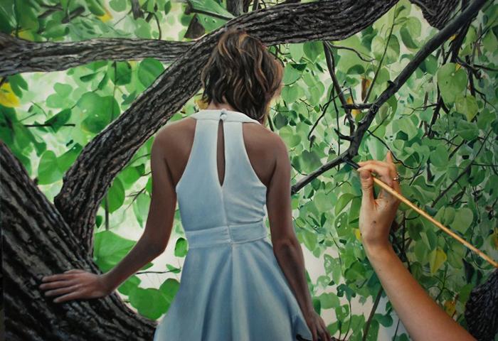 Картина масляными красками. Автор: Bronwyn Hill.