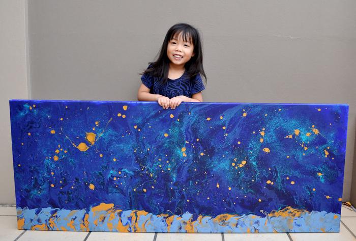 В этом году Касси заняла первое место на австралийском конкурсе среди детей до 5 лет.