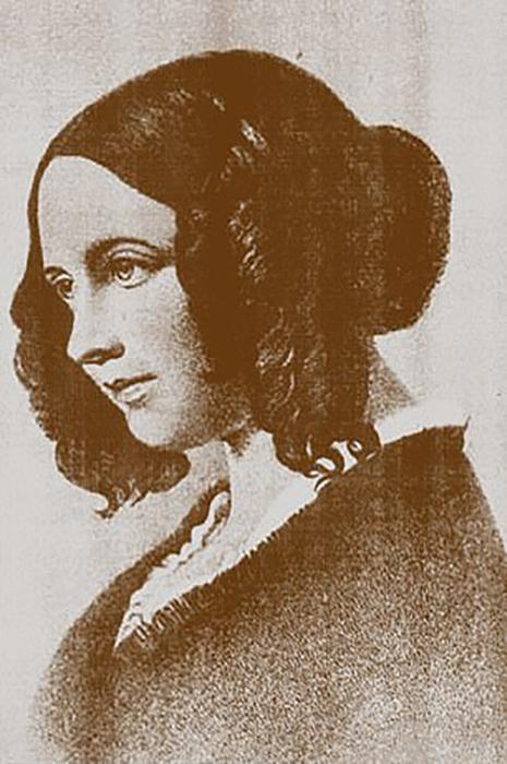 Кэтрин, жена Чарльза Диккенса.