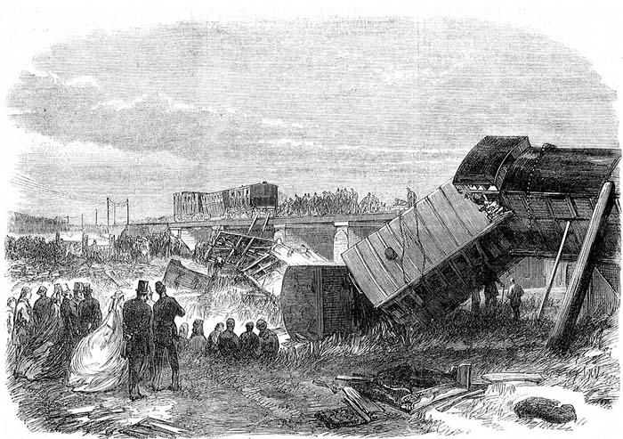 Крушение в Стейплхёрсте, в которое попал Чарльз Диккенс с Эллен.