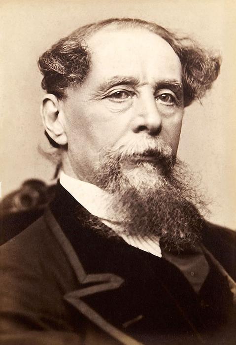 Чарльз Диккерс в возрасте 56 лет.