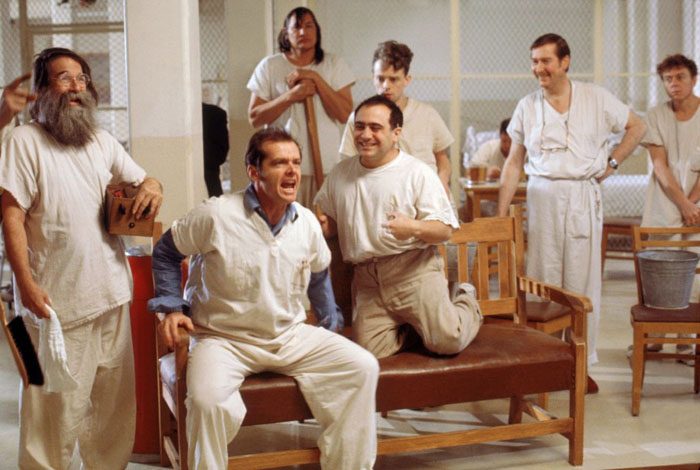 One Flew Over The Cuckoo Nest.