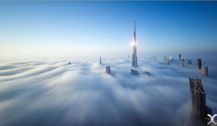 Белоснежная красота Дубаи.