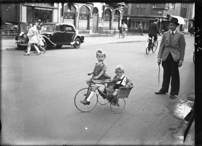 Детский велосипед, апрель 1949г.