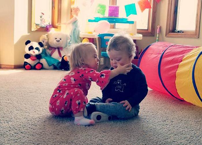 Сейчас Эми и Лана организовали свой блог, в котором рассказывают о своих детях.