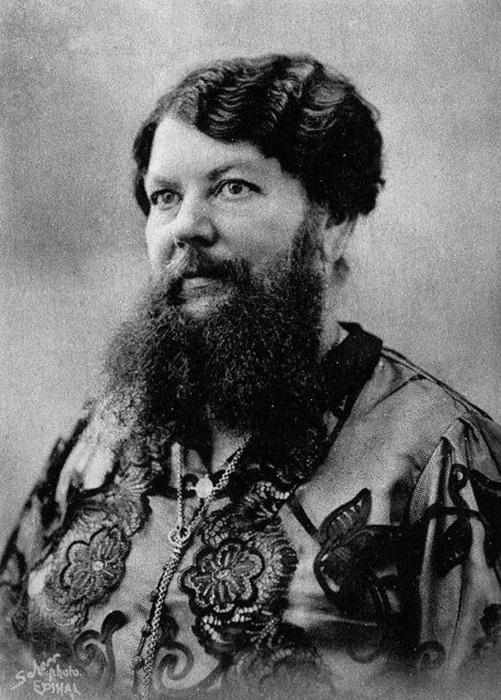 Клементин отрастила свою бороду на спор.