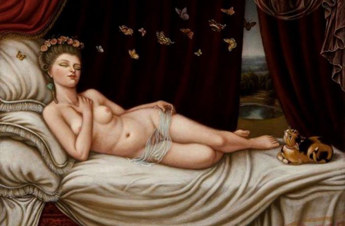 Провокационные картины Colette Calascione.