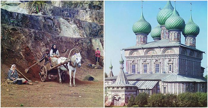 Цветные фотографии Прокудина-Горского.