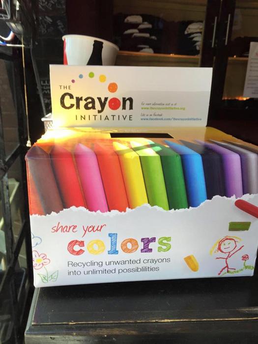 Мелки от The Crayon Initiative.