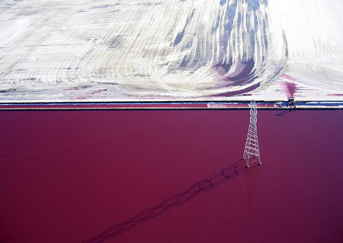 Соляные пруды в объективе Криса Бентона.