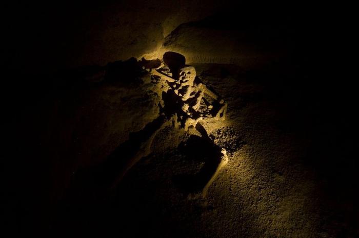 Всех людей, которые погибли в этой пещере, принесли в жертву богам Шибальбы.