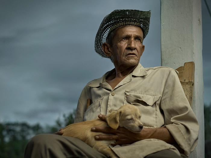 Луис Эрнесто Коверрубиас, 84 года (Пуэрта де Гольпе).