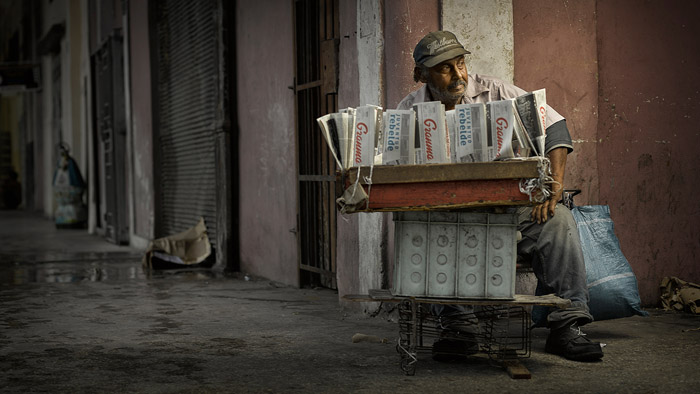 Хосе Кабрера (Гавана, Куба).  Автор фото: Jeroen Nieuwhuis.